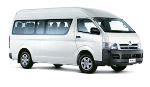 hire toyota mini bus
